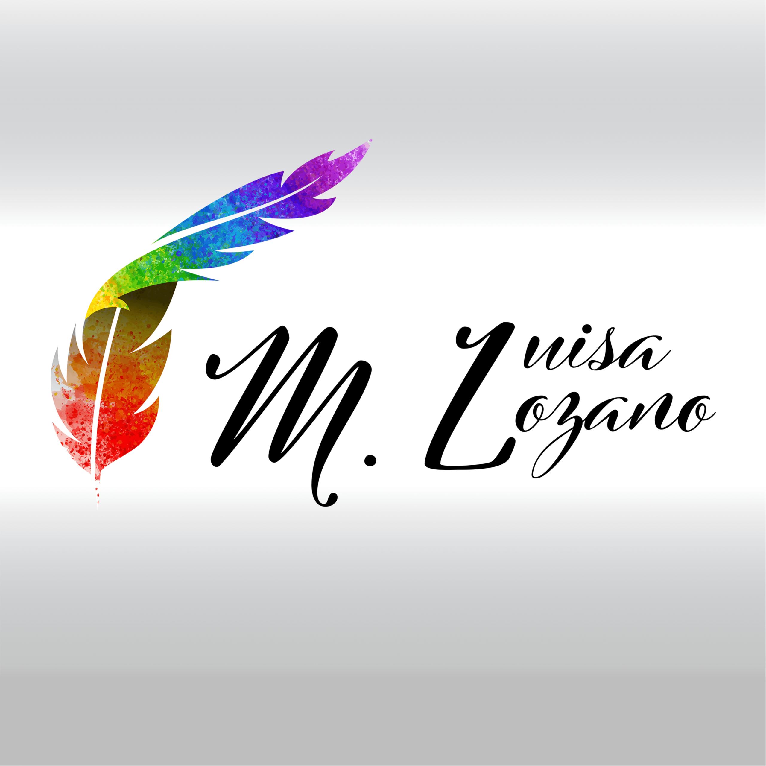 Logo escritor María Luisa Lozano