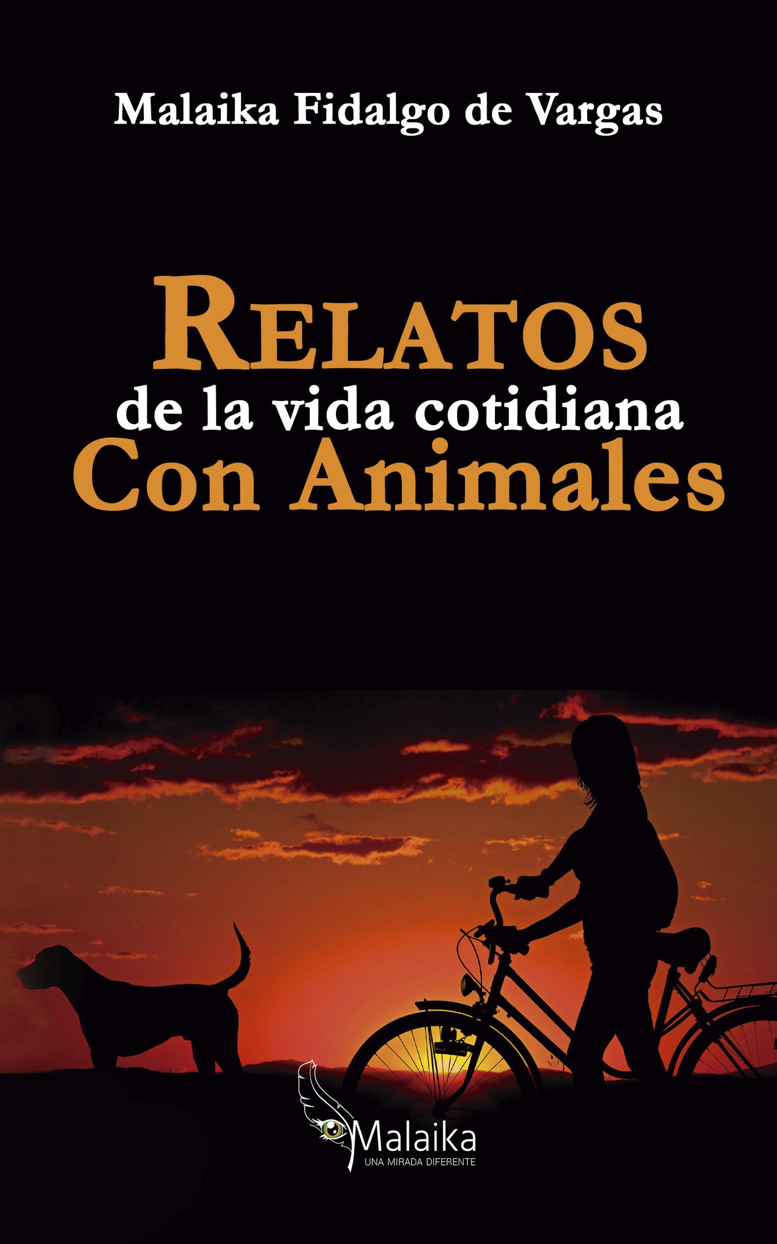 Portada EBook Relatos de la vida cotidiana con animales MALAIKA FIDALGO DE VARGAS
