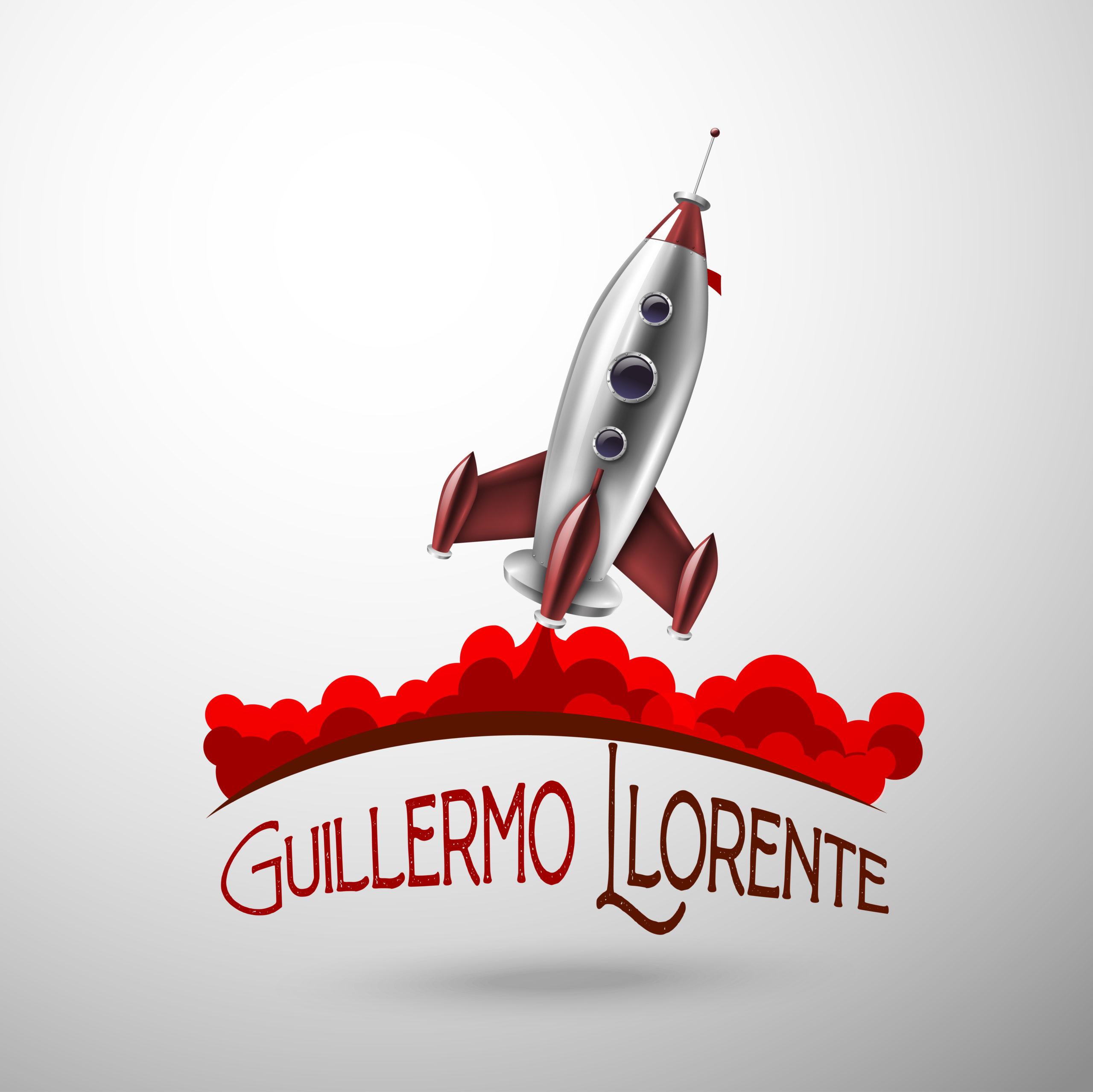 Logo Guillermo Llorente escritor