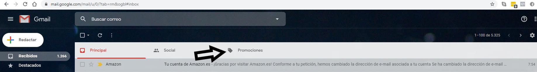 promociones gmail